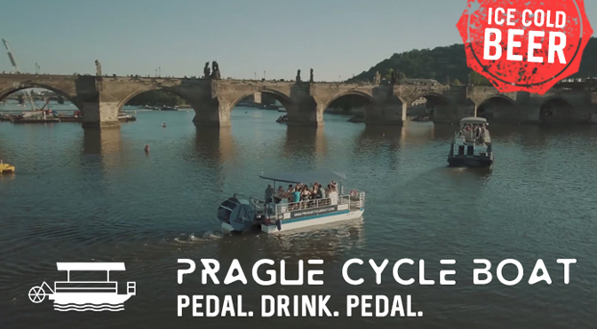 Cycle Boats Prague: Pedal. Drink. Pedal.